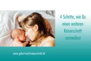 Einen weiteren Kaiserschnitt vermeiden